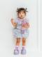 パステルフラワー着用写真(月齢14ヶ月、身長82cm、着用サイズ80cm)