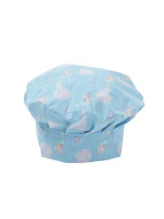 ブルーシンデレラ柄 - シェフ帽子