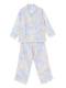 ラベンダーマルチフラワー柄のパジャマ(130cm)です