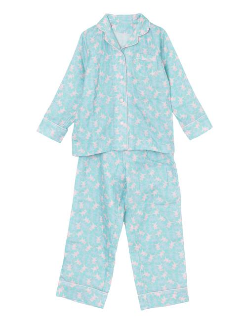 ミントベアー柄のパジャマ(150cm)です