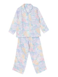 ラベンダーマルチフラワー柄のパジャマ(150cm)です