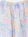 ボトムスアップ画像 - ラベンダーマルチフラワー柄パジャマ