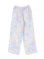 ボトムス背面画像 - ラベンダーマルチフラワー柄パジャマ