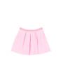 正面画像 - ピンク色キッズスカート