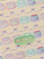 アップ画像 - アイボリーケーキ柄マルチケース
