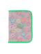 ピンクフラワー柄のマルチ・母子手帳ケース(L)です。