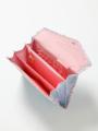 ジャバラ式-ブルーシンデレラ柄のマルチ・母子手帳ケース(スナップ)