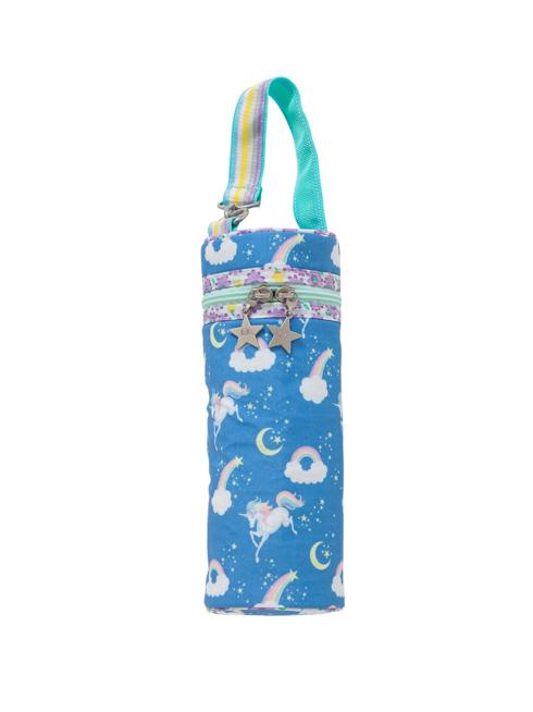 ブルーユニコーン柄のボトルケースです。