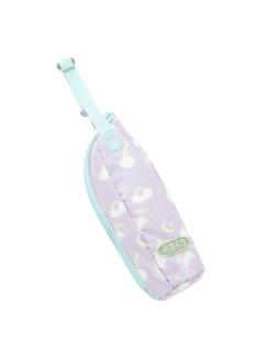 ラベンダーユニコーン柄のミルクボトルケースです。