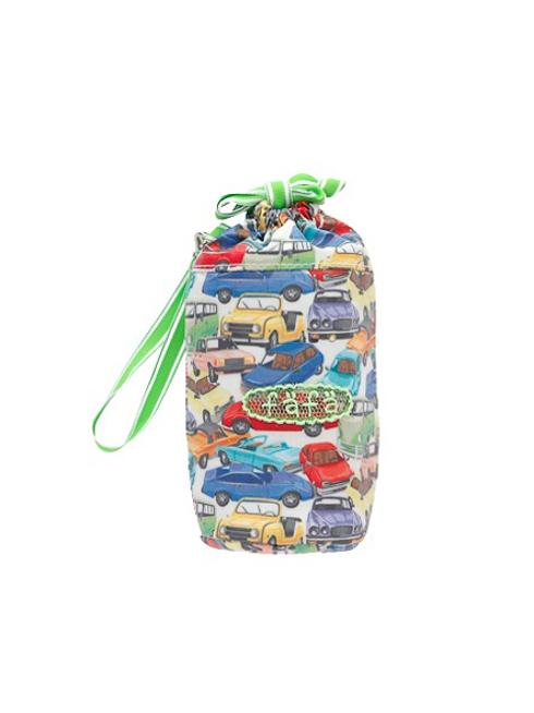 カー(車)柄のペットボトルケースです。