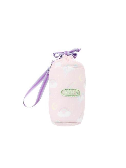 ピンクユニコーン柄のペットボトルケースです。