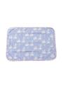 カバー単体 - ブルーモノケロス柄枕カバー