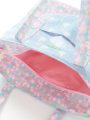 内装画像 - ブルーシンデレラ柄トートバッグ