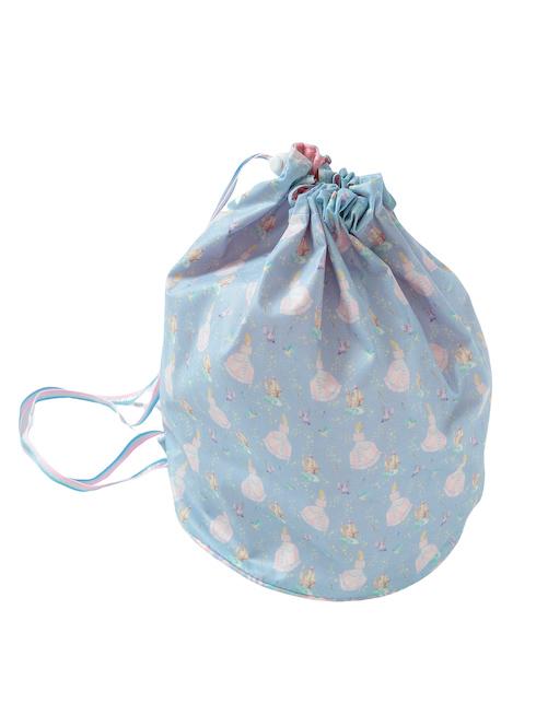 ブルーシンデレラ柄のプールバッグです。