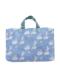 ブルーモノケロス柄のレッスントートバッグです。