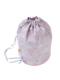 ラベンダーモノケロス柄のプールバッグです。