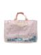 ラベンダーモノケロス柄のレッスントートバッグです。