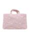 ピンクユニコーン柄のレッスントートバッグです。