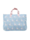 ブルーシンデレラ柄のレッスントートバッグです。