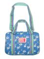 ブルーユニコーン柄の習字バッグです。