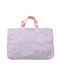 ピンクシンデレラ柄のレッスントートバッグです。