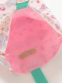 内装画像 - ピンクケーキ柄シューズポーチ
