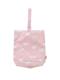 ピンクユニコーン柄のシューズポーチです